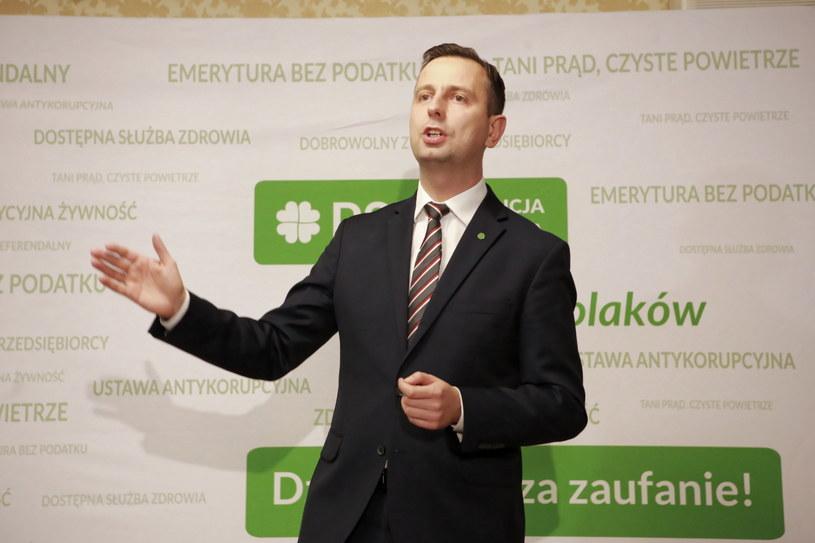 Prezes Polskiego Stronnictwa Ludowego Władysław Kosiniak-Kamysz /Piotr Augustyniak /PAP