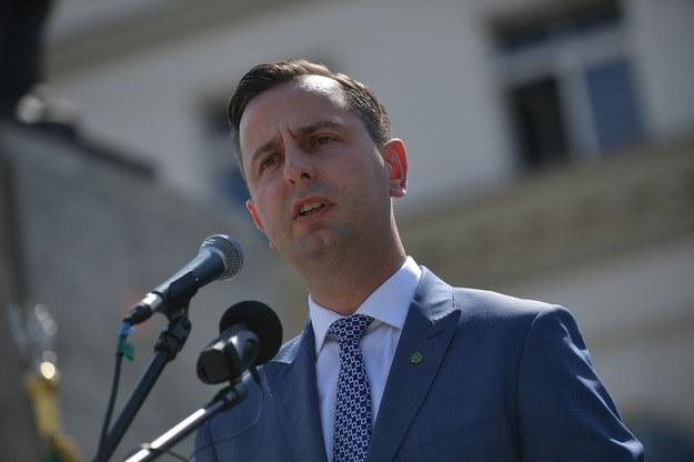 Prezes Polskiego Stronnictwa Ludowego Władysław Kosiniak-Kamysz / Marcin Obara  /PAP