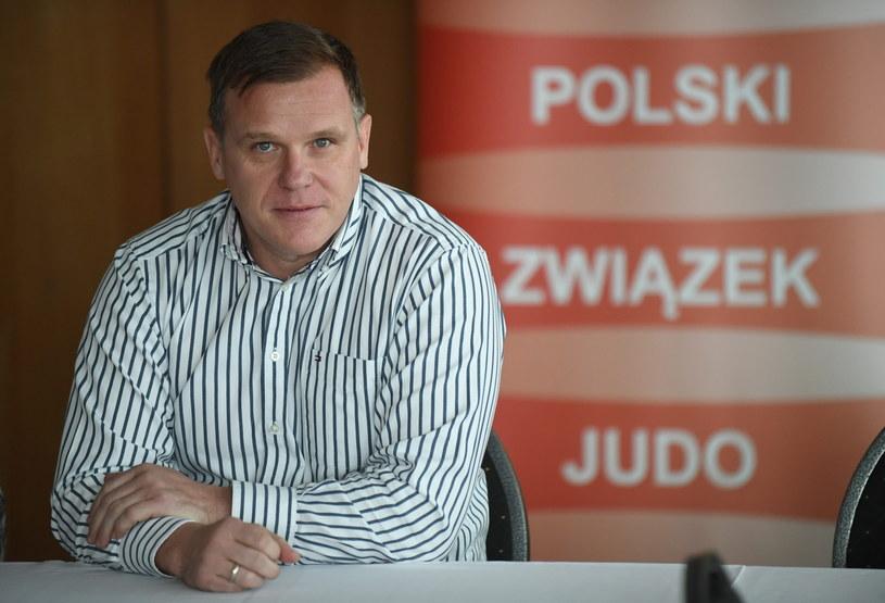 Prezes Polskiego Związku Judo Jacek Zawadka /Bartłomiej Zborowski /PAP