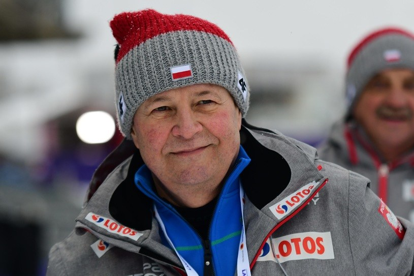 Prezes Polskiego Związku Narciarskiego Apoloniusz Tajner /fot. Martyna Szydłowska /Newspix