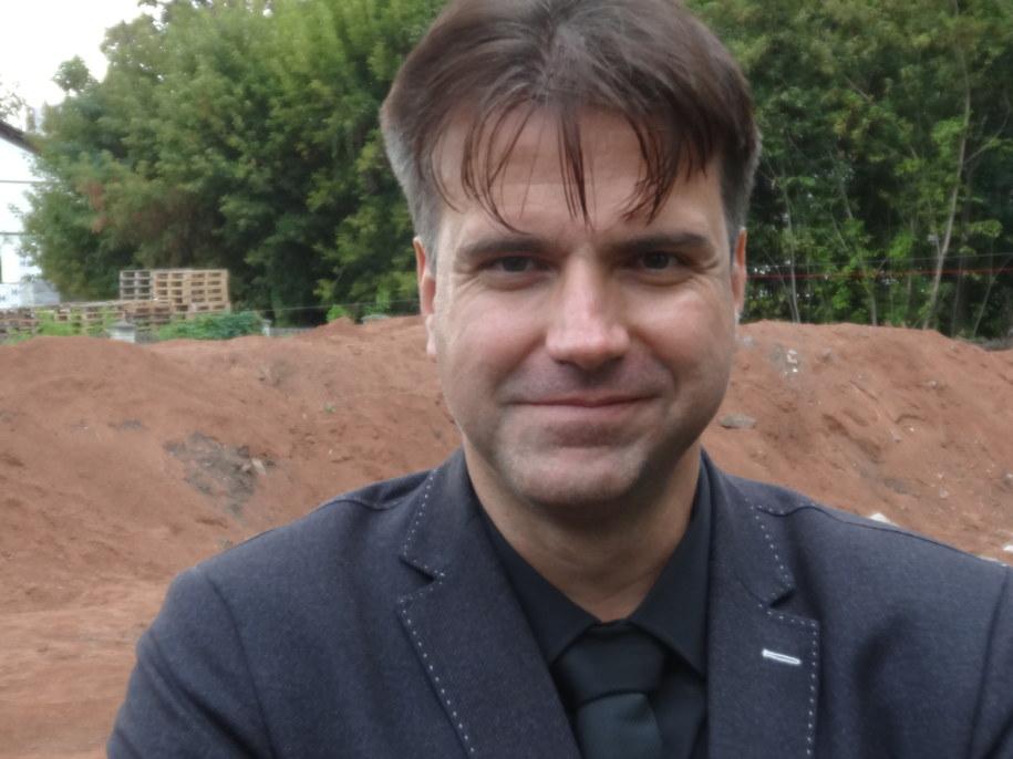 Prezes Polskiej Agencji Kosmicznej, dr hab. Grzegorz Brona /Grzegorz Jasiński /RMF FM
