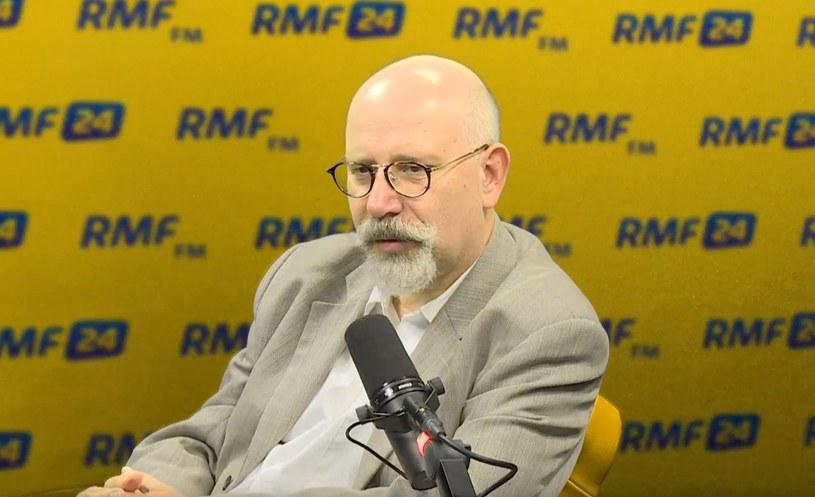 Prezes Polskiej Fundacji Narodowej Maciej Świrski w RMF FM /RMF