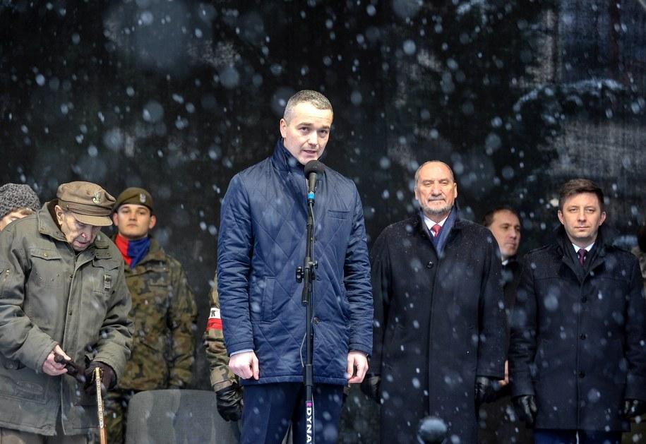 Prezes Polskiej Grupy Zbrojeniowej Błażej Wojnicz / Marcin Obara  /PAP