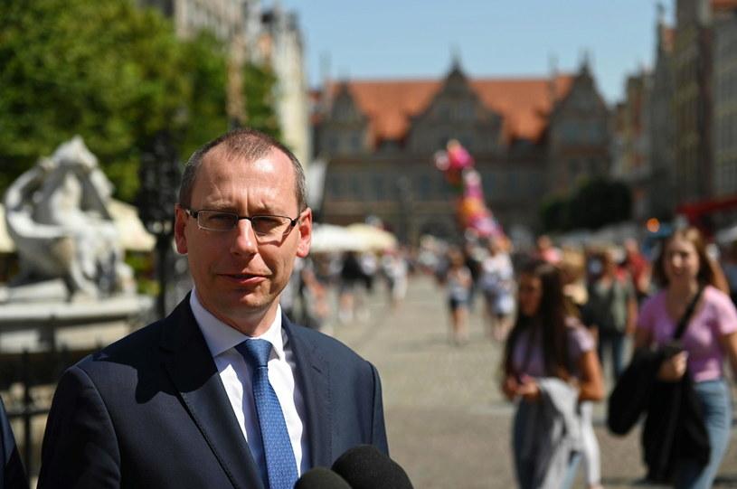 Prezes Polskiej Organizacji Turystycznej Robert Andrzejczyk /Jan Dzban /PAP