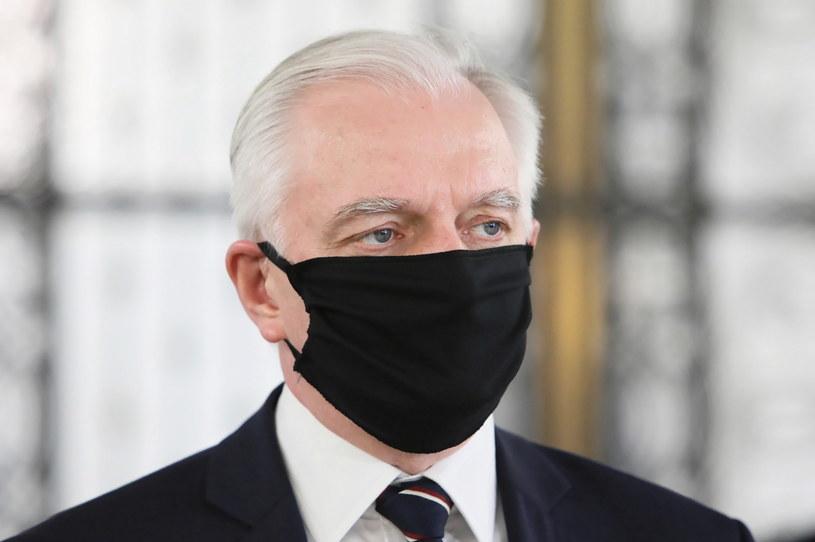 Prezes Porozumienia Jarosław Gowin / Leszek Szymański    /PAP