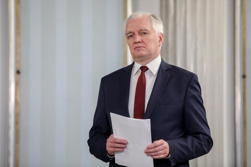 Prezes Porozumienia Jarosław Gowin /fot. Andrzej Iwanczuk/REPORTER /Reporter
