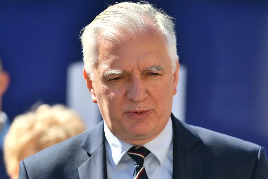 Prezes Porozumienia Jarosław Gowin / Maciej Kulczyński    /PAP