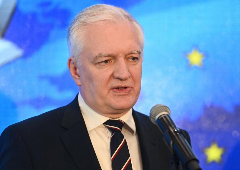 Prezes Porozumienia Jarosław Gowin /Artur Barbarowski /East News