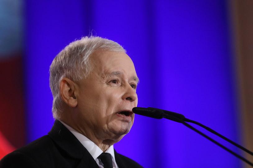 Prezes Prawa i Sprawiedliwości Jarosław Kaczyński fot. Rafał Guz /PAP