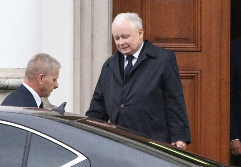 Prezes Prawa i Sprawiedliwości Jarosław Kaczyński zabronił atakować prezydenta Andrzeja Dudę /Marcin Obara /PAP