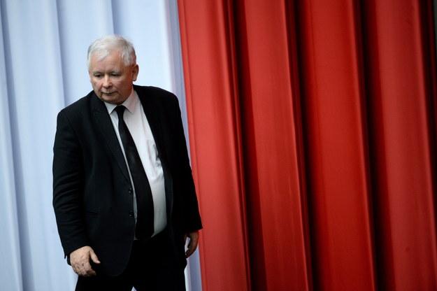 Prezes Prawa i Sprawiedliwości Jarosław Kaczyński /Jacek Turczyk /PAP