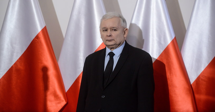 Prezes Prawa i Sprawiedliwości Jarosław Kaczyński /Jakub Kamiński   /PAP