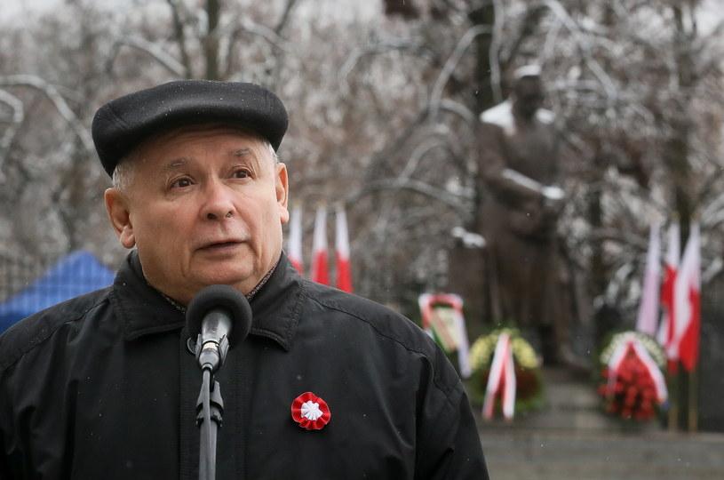 Prezes Prawa i Sprawiedliwości Jarosław Kaczyński /Paweł Supernak /PAP