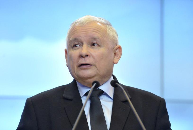 Prezes Prawa i Sprawiedliwości Jarosław Kaczyński /Marcin Obara /PAP