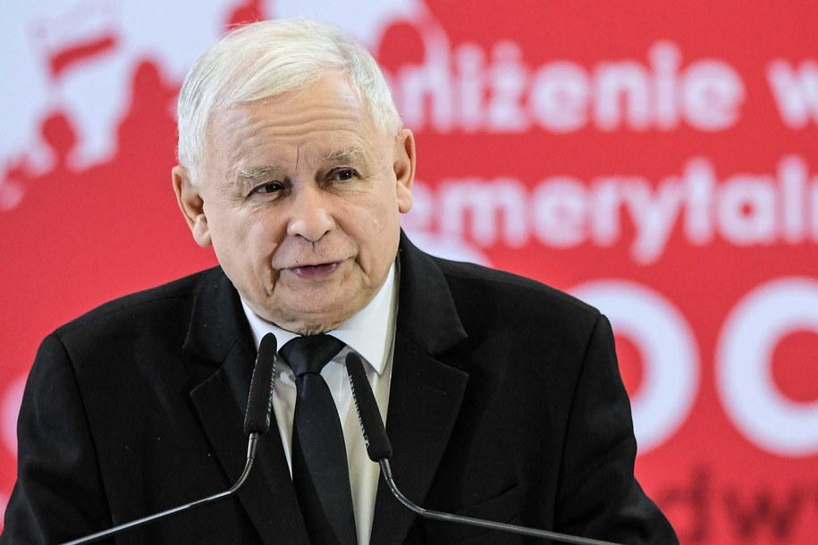 Prezes Prawa i Sprawiedliwości Jarosław Kaczyński /Paweł Skraba /PAP