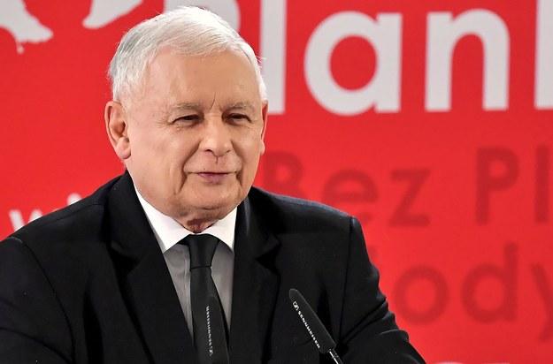Prezes Prawa i Sprawiedliwości Jarosław Kaczyński / Piotr Polak    /PAP