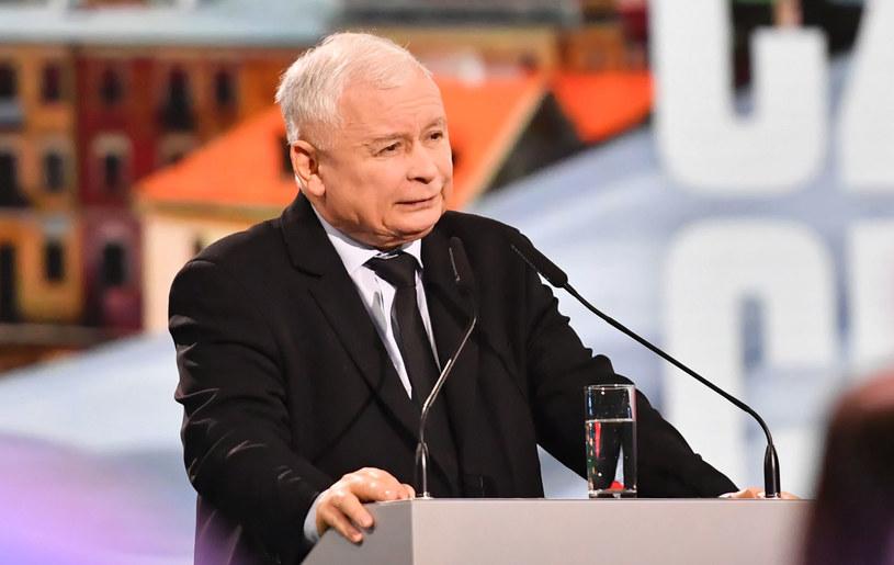 Prezes Prawa i Sprawiedliwości Jarosław Kaczyński /Wojtek Jargiło /PAP