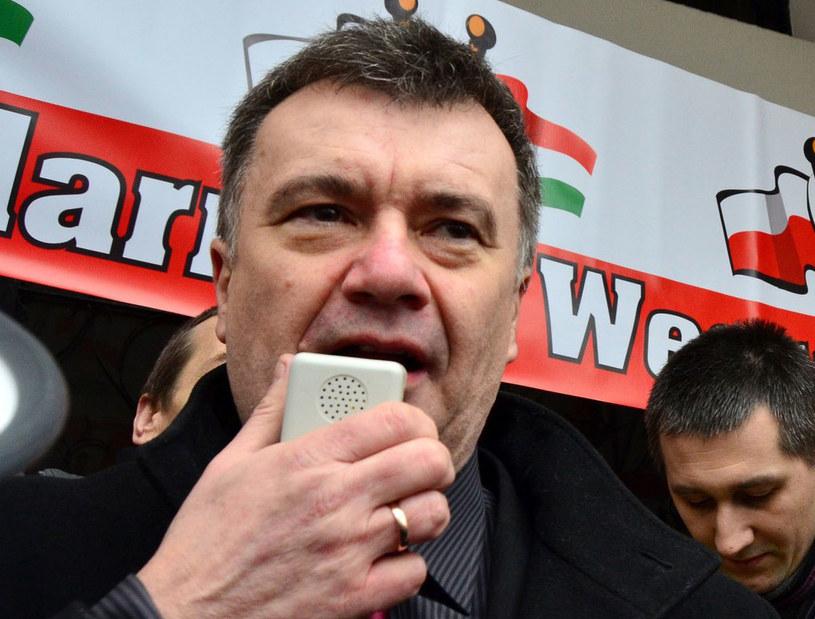 Prezes Prawicy RP Krzysztof Kawęcki /Mariusz Gaczyński /East News