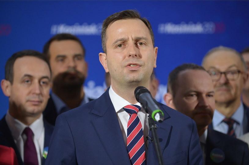 Prezes PSL, kandydat na prezydenta w wyborach 2020 Władysław Kosiniak-Kamysz (C) / Marcin Obara  /PAP