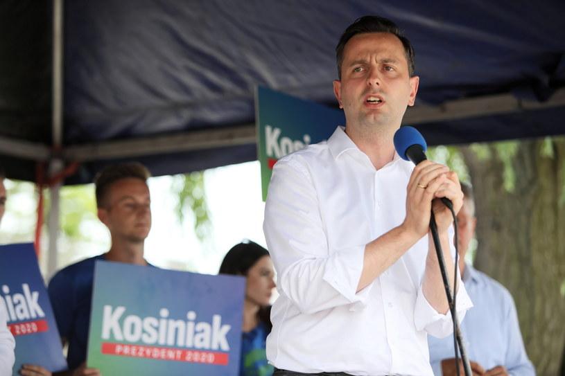Prezes PSL, kandydat w wyborach prezydenckich Władysław Kosiniak-Kamysz /Leszek Szymański /PAP