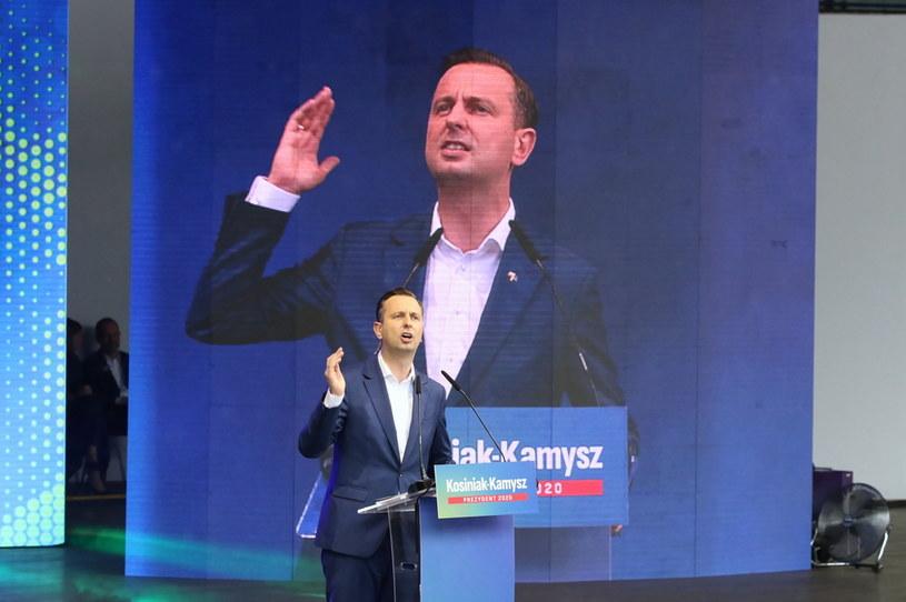 Prezes PSL, kandydat w wyborach prezydenckich Władysław Kosiniak-Kamysz /Krzysztof Świderski /PAP
