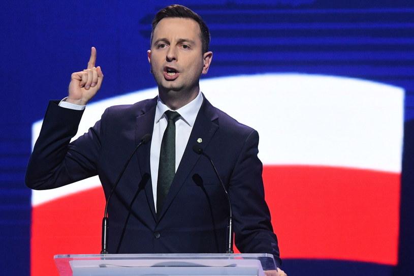 Prezes PSL Władysław Kosiniak-Kamysz przemawia podczas konwencji Koalicji Europejskiej / Radek Pietruszka   /PAP