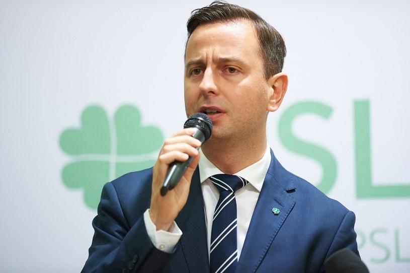 Prezes PSL Władysław Kosiniak-Kamysz /Lukasz Szelag /Reporter