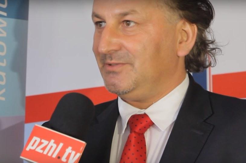 Prezes PZHL-u Mirosław Minkina /INTERIA.PL
