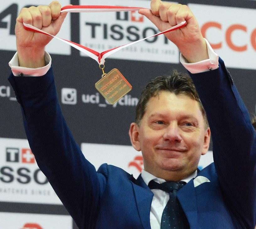 Prezes PZKol Dariusz Banaszek /Sylwia Dąbrowa /East News