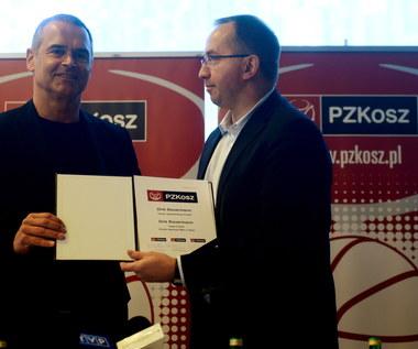 Prezes PZKosz.: Bauermann to doświadczenie i charyzma