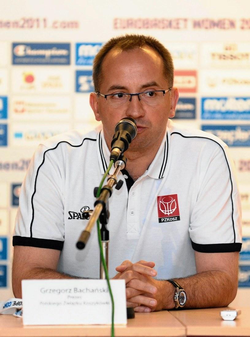 Prezes PZKosz. Grzegorz Bachański /Fot. Dawid Chalimoniuk /