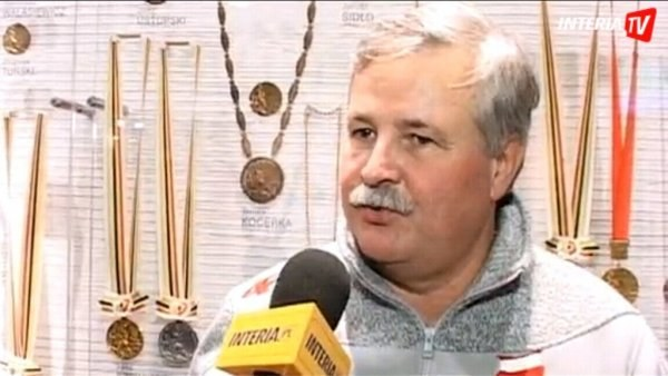 Prezes PZN Apoloniusz Tajner. /INTERIA.PL