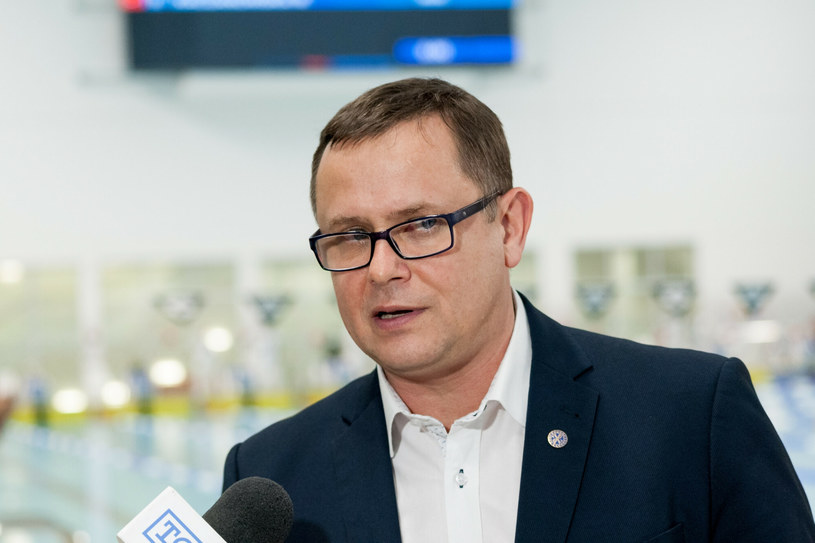 Prezes PZP Paweł Słomiński /Marcin Jurkiewicz /East News