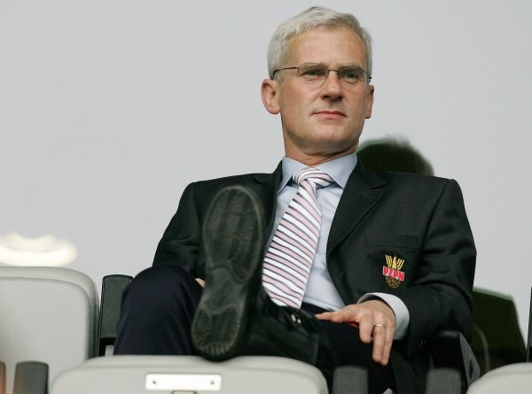 Prezes PZPN Michał Listkiewicz. Fot. Łukasz Grochala /Agencja Przegląd Sportowy