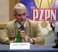 Prezes PZPN Michał Listkiewicz /INTERIA.PL