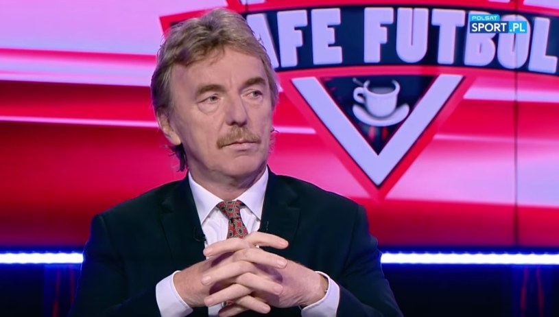"""Prezes PZPN Zbigniew Boniek w """"Cafe Futbol""""; źródło: youtube /"""