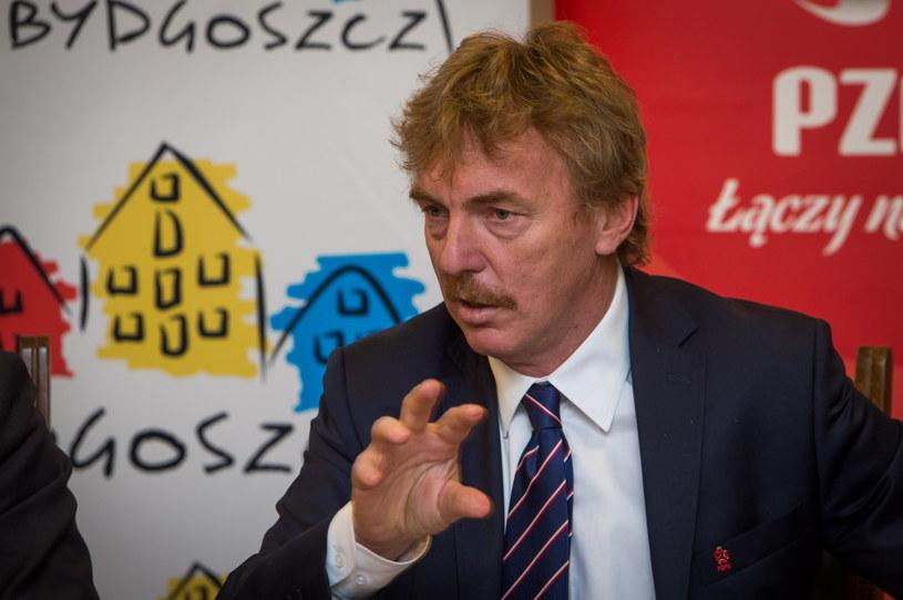 Prezes PZPN Zbigniew Boniek /Fot. Tytus Żmijewski /PAP