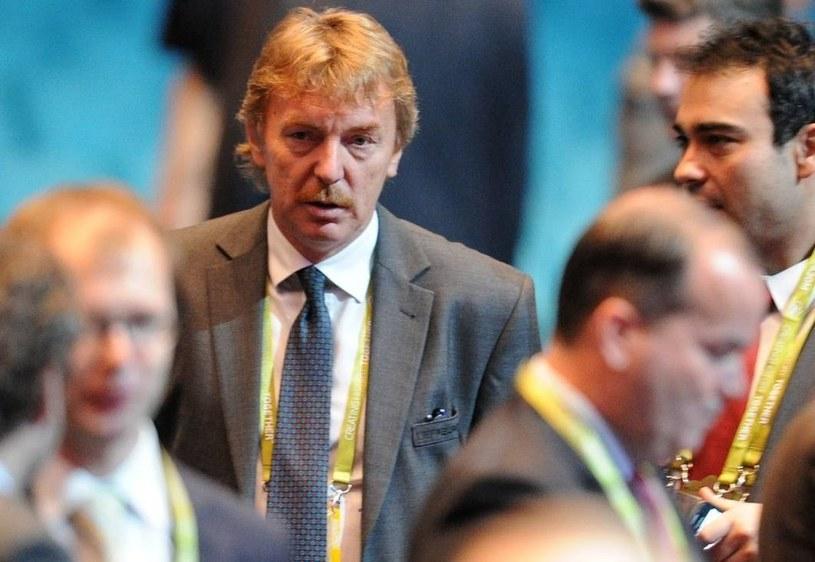 Prezes PZPN Zbigniew Boniek. /AFP