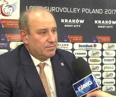 Prezes PZPS Jacek Kasprzyk: Kwintesencja siatkówki. Wideo