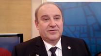 Prezes PZPS Jacek Kasprzyk o celach kadry siatkarzy. Wideo