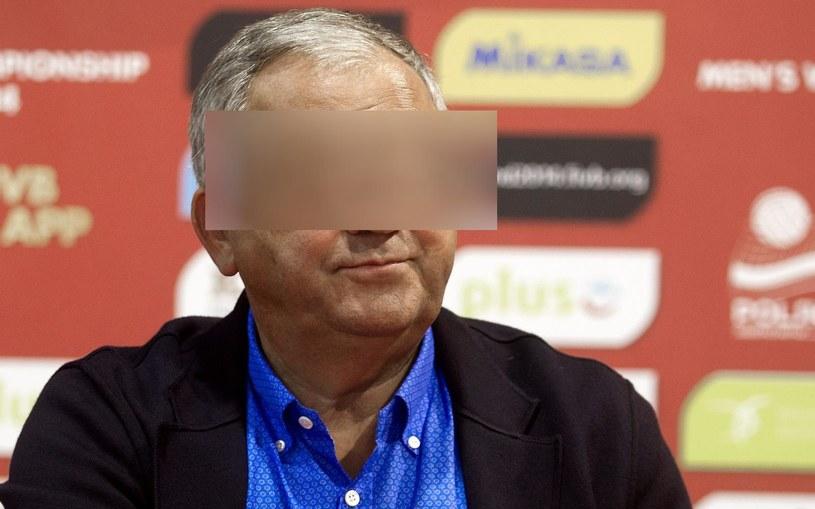 Prezes PZPS-u Mirosław P. został aresztowany na trzy miesiące /Fot. Andrzej Grygiel /PAP