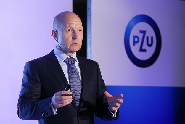 Prezes PZU SA Andrzej Klesyk /PAP