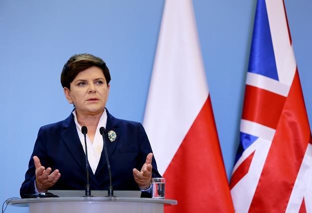 Prezes Rady Ministrów Beata Szydło /PAP