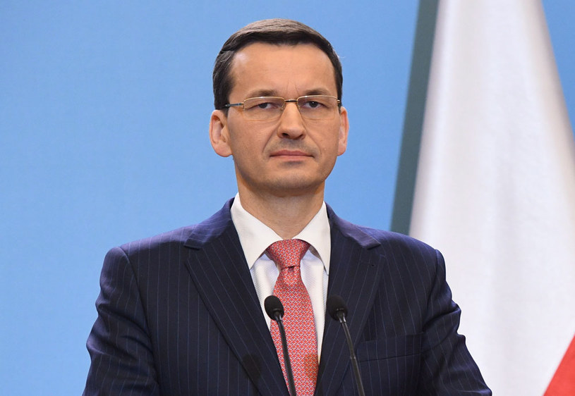 Prezes Rady Ministrów Mateusz Morawiecki /Radek Pietruszka /AFP