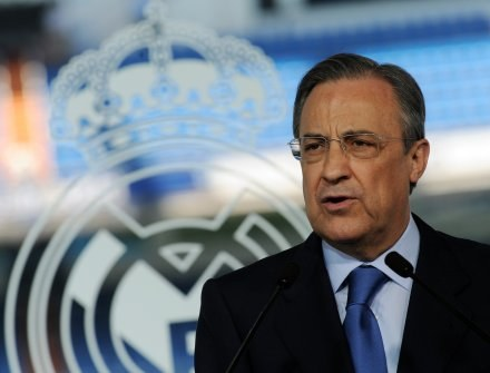 Prezes Realu Madryt - Florentino Perez. /AFP