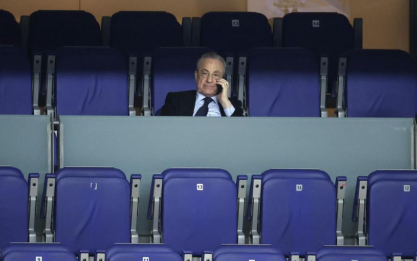 Prezes Realu Madryt Florentino Perez / Anadolu Agency / Contributor /Getty Images