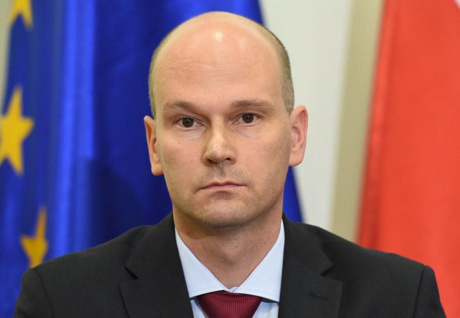 Prezes Rządowego Centrum Legislacji Maciej Berek /Radek Pietruszka /PAP