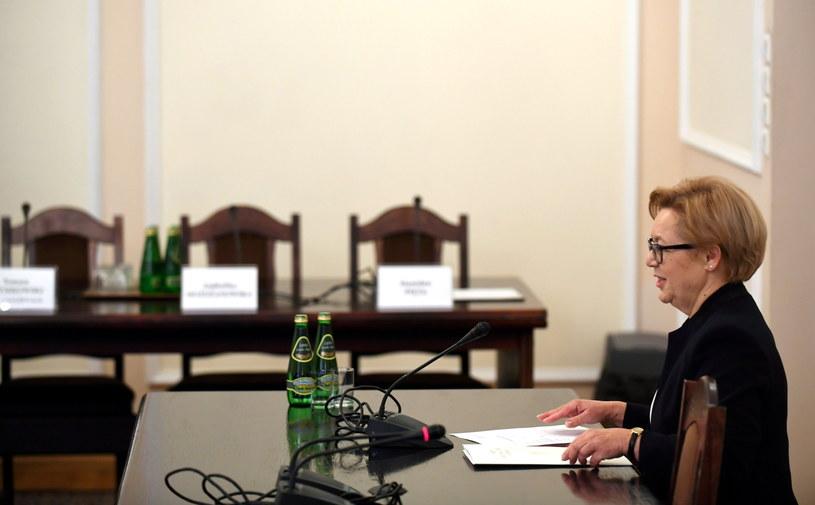 """Prezes Sądu Apelacyjnego w Gdańsku Anna Skupna: Nie jestem """"Carycą"""", jestem prezesem /Bartłomiej Zborowski /PAP"""