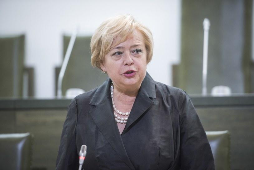 Prezes Sądu Najwyższego Małgorzata Gersdorf /Jacek Dominsk /Reporter