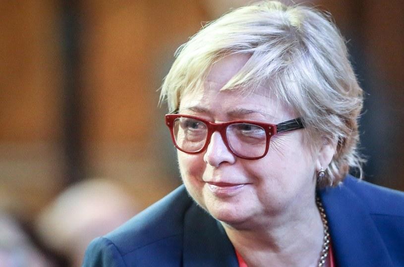 Prezes Sądu Najwyższego Małgorzata Gersdorf /Karolina Misztal /Reporter